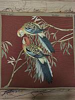 Гобеленовая картина Art de Lys 2 Perroquets colorés  50x50  без подкладки, фото 1