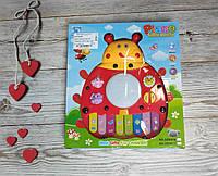 Пианино божья коровка развивающая музыкальная игрушка для малышей