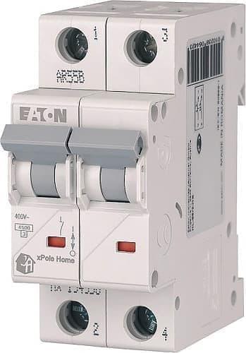 Автоматический выключатель Eaton xPole Home HL-C63/2, 63A 2P