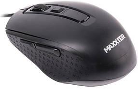 Мышь компьютерная проводная Maxxter Mc-335 Black (Maxxtro)