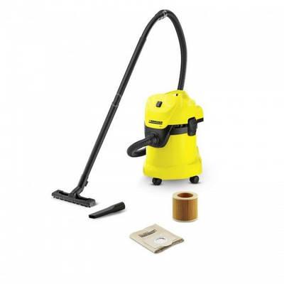 Хозяйственный пылесос Karcher WD 3 Желтый (1.629-801.0)