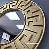 Зеркало настенное Riga в золотой раме R3, фото 4