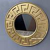 Зеркало настенное Riga в золотой раме R3, фото 8