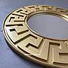 Зеркало настенное Riga в золотой раме R3, фото 7