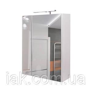 Зеркальный шкаф Qtap Albatross QT0177ZP600LW со светильником