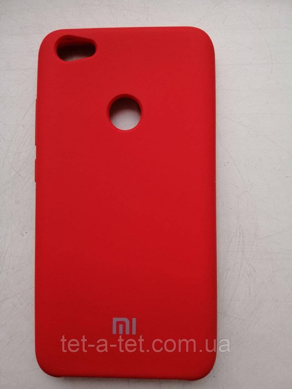 Silicone Color Cover Xiaomi Redmi Note 5 Red