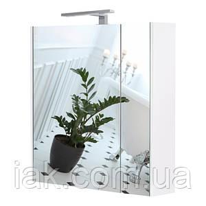 Зеркальный шкаф Qtap Albatross с подсветкой QT0177ZP700LW
