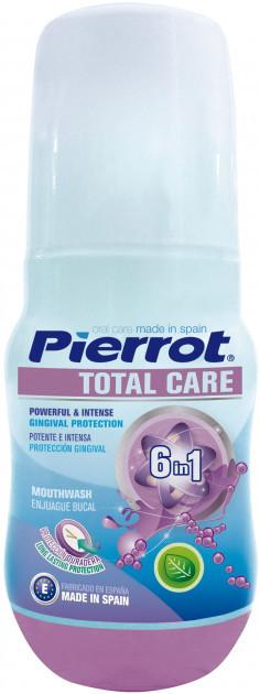 """Ополаскиватель """"Защита 6в1"""" Pierrot Тotal Care mouthwash Ref.118, 100 мл"""