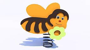 """Качалка на пружині """"Бджілка"""""""