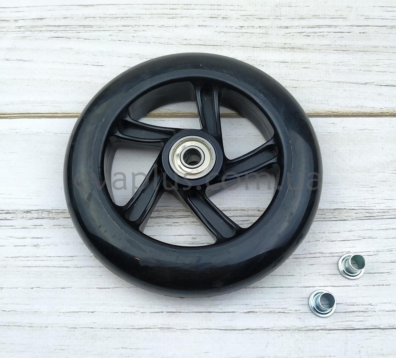 Колесо полиуретановое 123 мм (черное)
