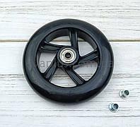 Колесо полиуретановое 123 мм (черное), фото 1