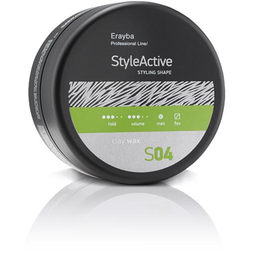 Віск для укладання волосся середньої фіксації з матовим ефектом Erayba S04 Style Active Clay Wax 90 мл