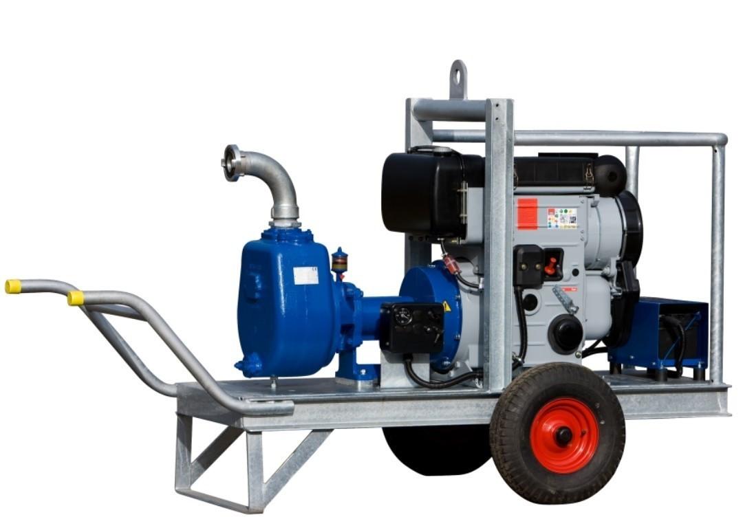 Насос B70-250 с дизельным приводом