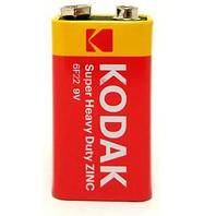 Батарейка KODAK Super heavy duty ZINC 9V 6F22
