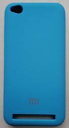 Силиконовый чехол-накладка Color Silk для Xiaomi Redmi 5A Light Blue