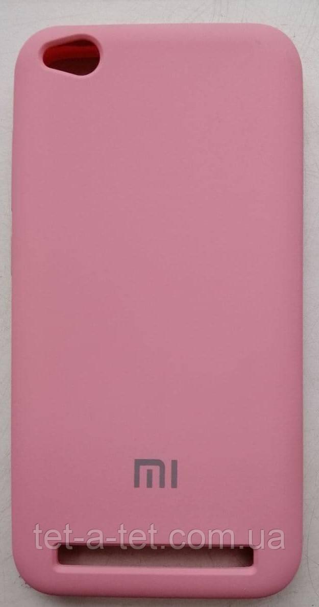 Silicone Color Cover Xiaomi Redmi 5A Pink