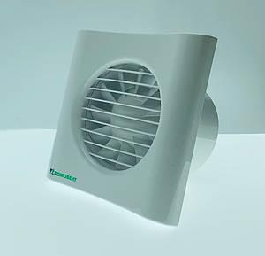Вытяжной вентилятор ДОМОВЕНТ 100 ТИША Белый (0688045354)