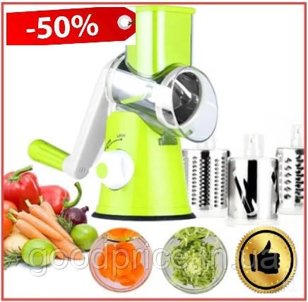 Ручная овощерезка Kitchen Master мультислайсер механический для овощей и фруктов