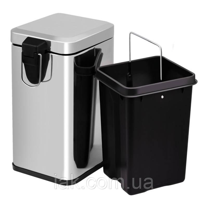 Ведро для мусора Lidz (CRM)-121.11.12