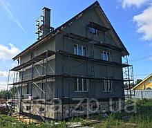Будівельні рамні риштування комплектація 8 х 9 (м)