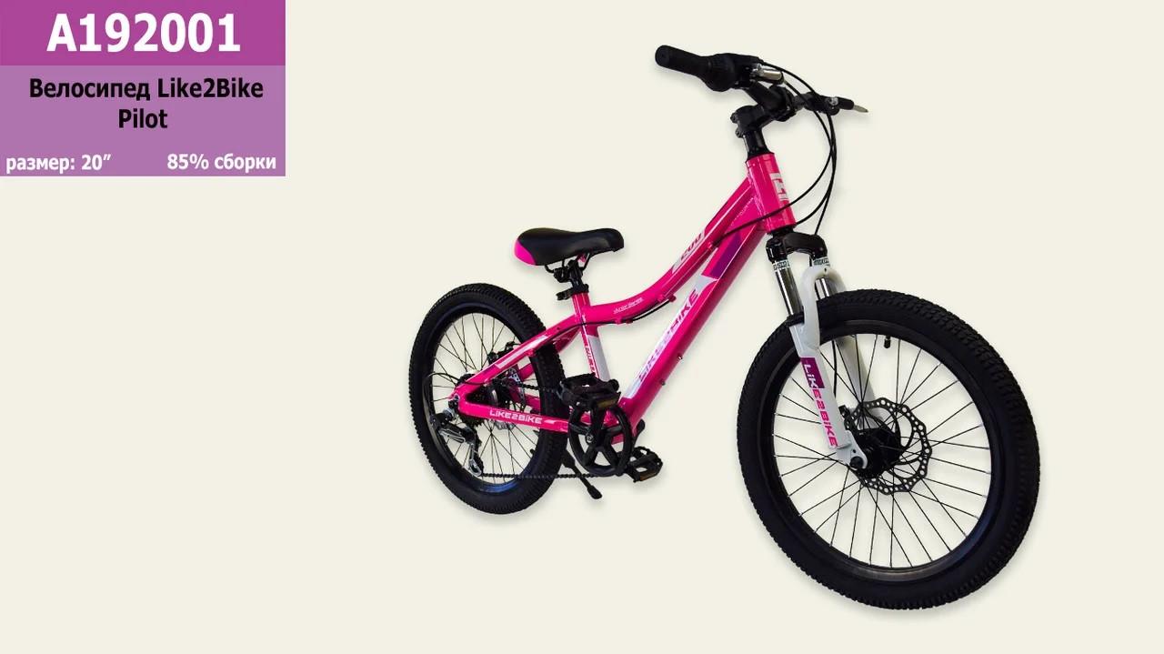 Велосипед 2-х колісний гірський 20'' гальма підніжка A192001