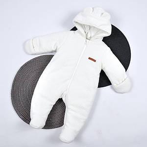 Детский демисезонный комбинезон MagBaby для новорожденных 62,68,74, осень, весна