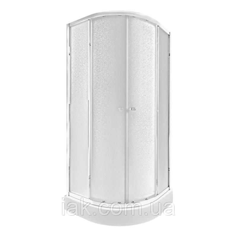 Набір Qtap душова кабіна Presto CRM1088AP5 Pear + піддон Uniarc 308815