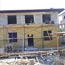 Будівельні рамні риштування комплектація 4 х 9 (м)