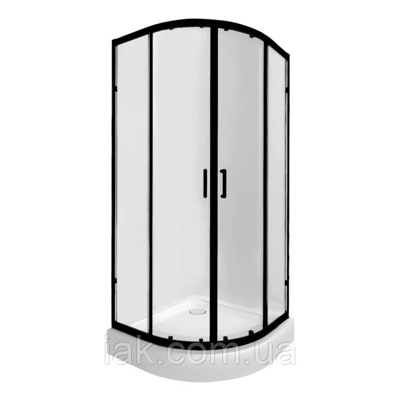 Набір Qtap душова кабіна Taurus BLA1099AC6 Clear + піддон Uniarc 309915