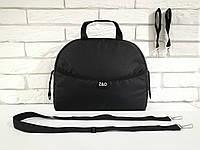Универсальная сумка на коляску с ручкой Zdrowe dziecko Черная Польша