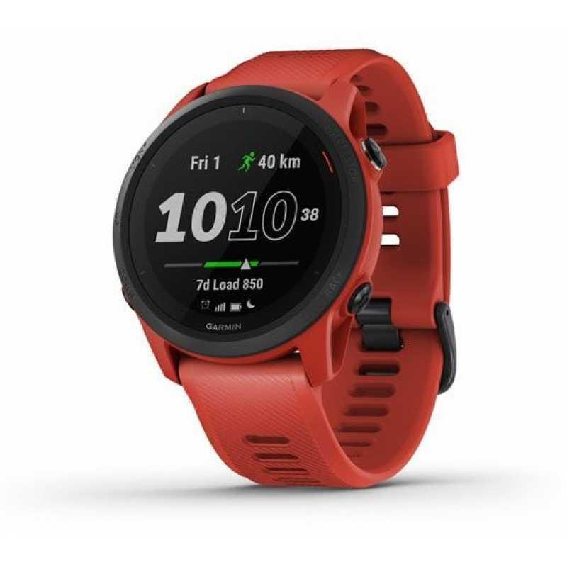 Часы для бега Garmin Forerunner 745 Magma Red