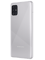 Смартфон Samsung Galaxy A51 2020 8/128Gb Haze Crush Silver (SM-A515) EU, фото 2