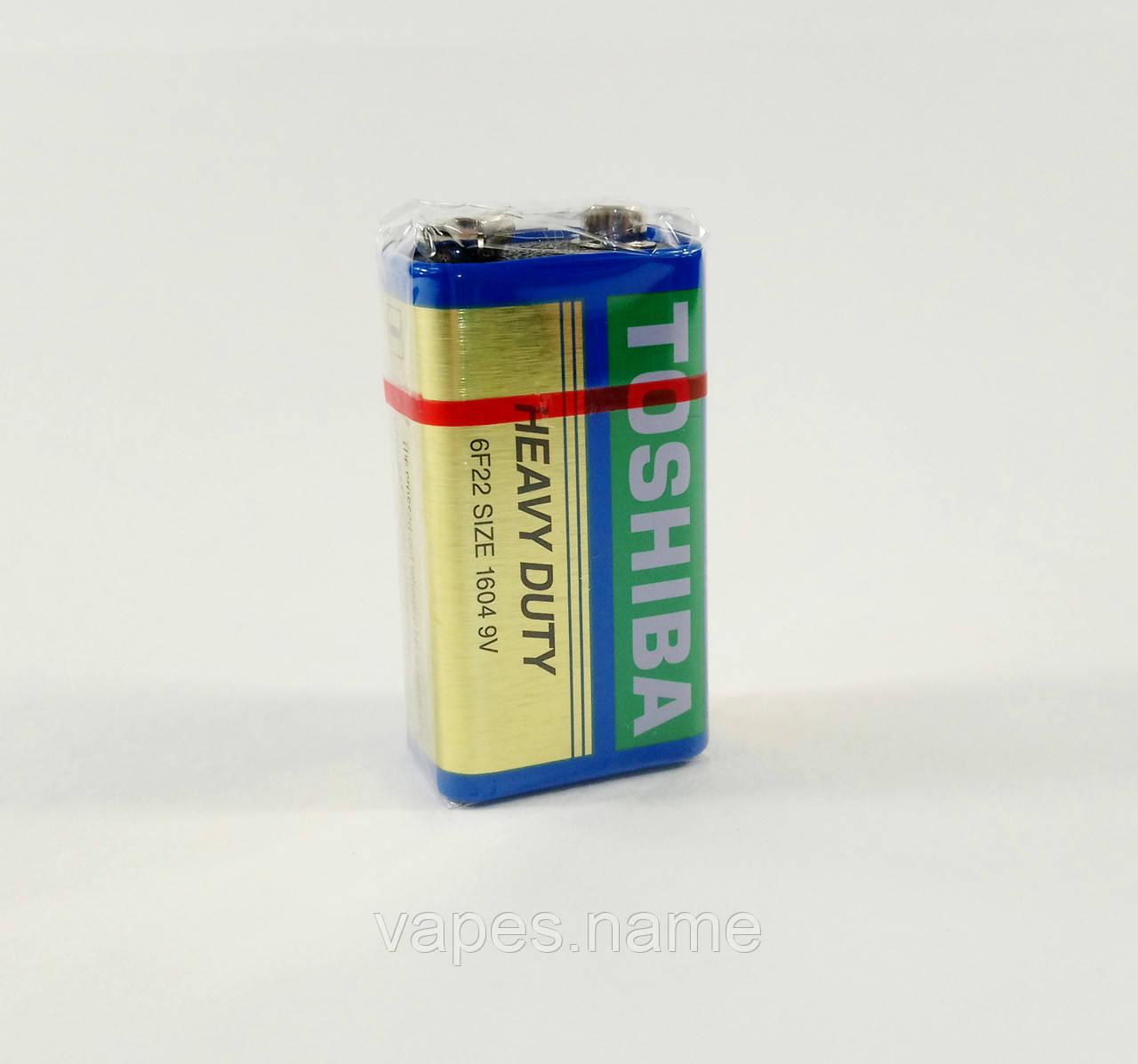 Батарейка TOSHIBA heavy duty 6F22 1604 9V