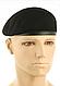 Берет мужской армейский  безшовный   шерстяной  цвет черный  MFH   Германия, фото 3