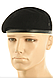 Берет мужской армейский  безшовный   шерстяной  цвет черный  MFH   Германия, фото 2
