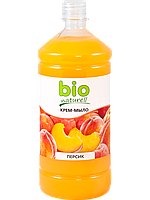 Жидкое мыло «Персик» запаска 1000мл BIO naturell