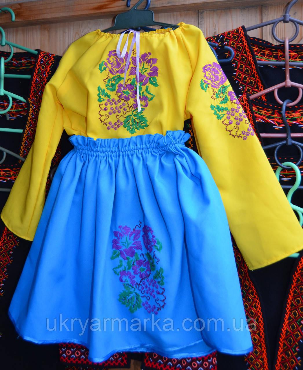 Дитячий вишитий костюм