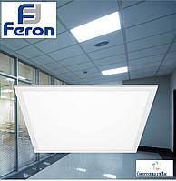 Светодиодная панель-замена растрового светильника Feron AL2118 36W, 3000 Lm 6400K IP20, 595*595*8мм