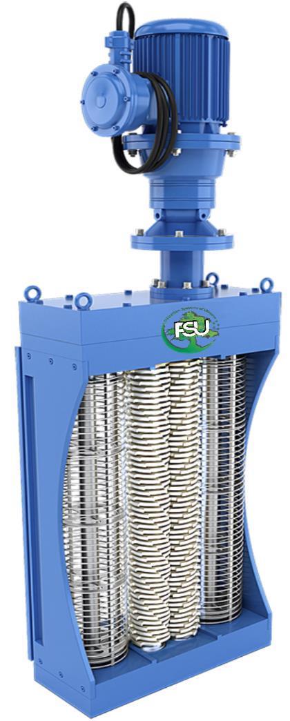 Измельчитель (шредер) для уничтожения отходов от крупного рогатого скота типа FSU