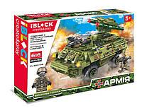 Конструктор IBLOCK PL-920-174 АРМИЯ, 616дет., в собран.кор 42,5*7*30см