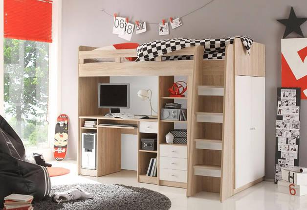 Детская кровать - чердак bk02 TM Mebelle, фото 2
