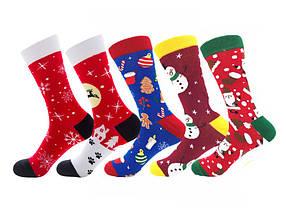 Набор носков Happy New Year от Friendly Socks (5 пар)