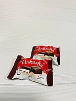 Цукерки Аркашка зі смаком вишні 2,5 кг. ТМ Лапотушка