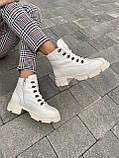 Женские ботинки кожаные зимние бежевые U Spirit 5037, фото 4