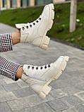 Женские ботинки кожаные зимние бежевые U Spirit 5037, фото 5