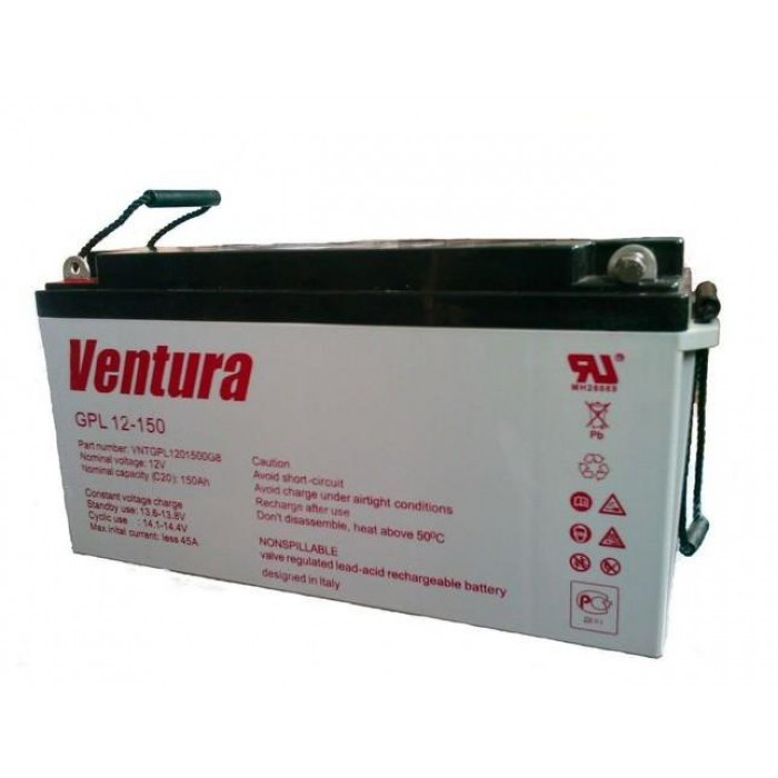 Аккумуляторная батарея AGM Ventura GPL 12-160 Ah 12V