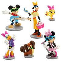Игровой набор фигурки Минни Маус Дисней Минни маус Рок звезда Disney Minnie Mouse Rock Star Figure Play Set