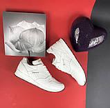 Женские кроссовки кожаные весна/осень белые Yuves R 250, фото 9