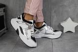 Женские кроссовки кожаные весна/осень белые-черные ANRI-de-colo 655/53, фото 8