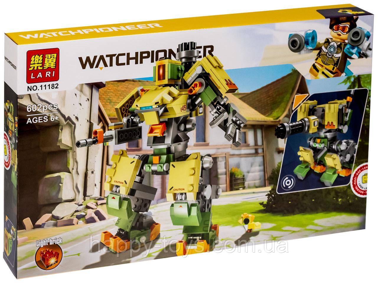 Конструктор Овервотч Бастион Робот Overwatch Games Lari 11182 682 детали